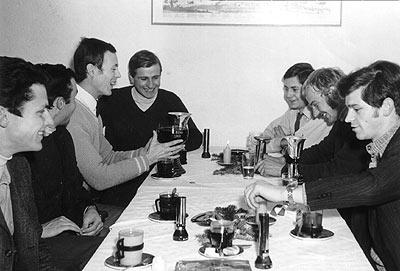 1968 | Ein Klub wird gegründet: Struger, Huss, Figura, Eggenberger, Tatschl, Pegam, Koschutnig