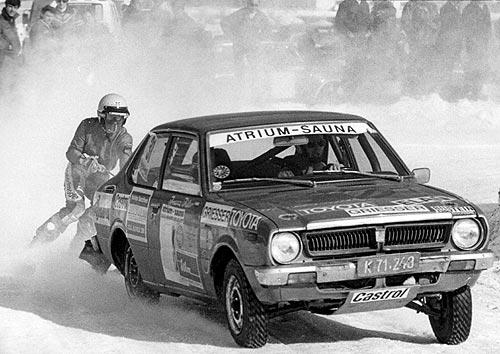 1980 | 1980 Schikjöring beim C.A.R. Team Ferlach