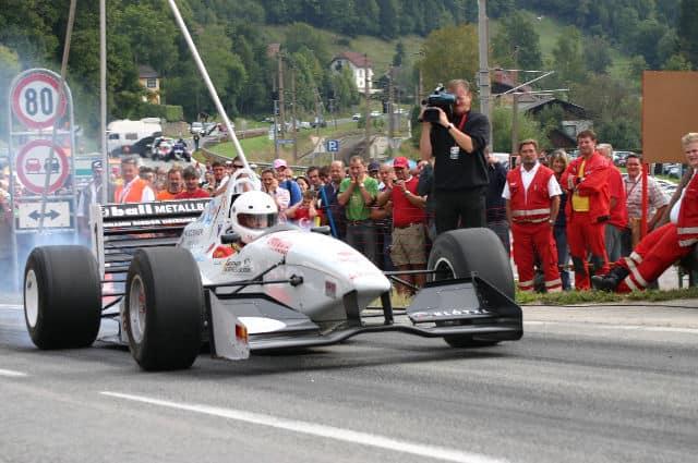2006 | Klubmitglied Hermann Waldy Sieger des 1. Bergrennens 2006