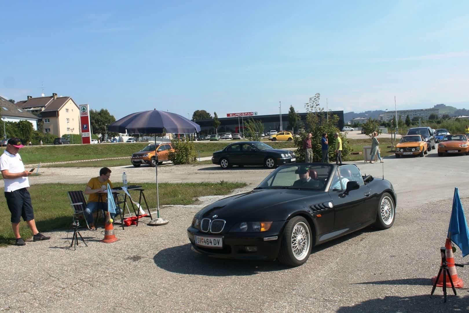Ausflug des CAR Teams Ferlach am 12. September 2020 mit Gleichmäßigkeitsprüfung anstelle des abgesagten sms-Classic-Sprints - Wagner Peter, BMW Z3