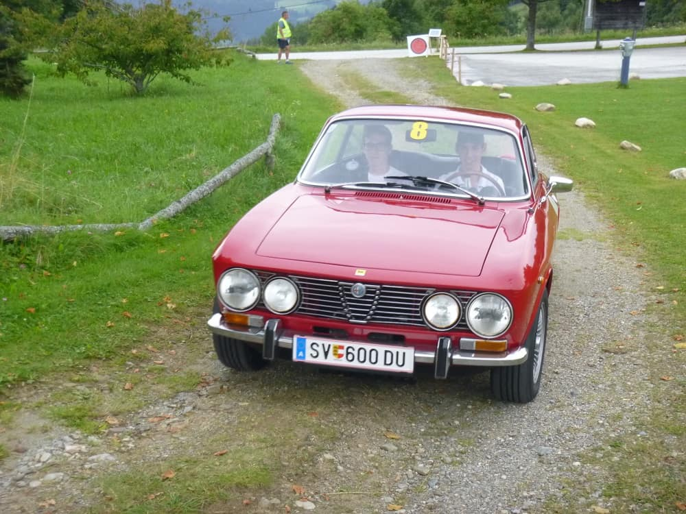 LUTTENBERGER Clemens/PIKETZ David, Alfa 2000 GTV Bertone, Baujahr 1971