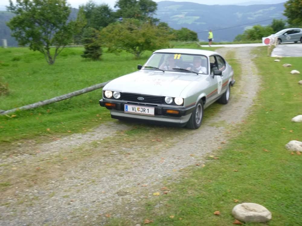 RAMUSCH Johann/WEBER Alexandra, Ford Capri GT 4, Baujahr 1980