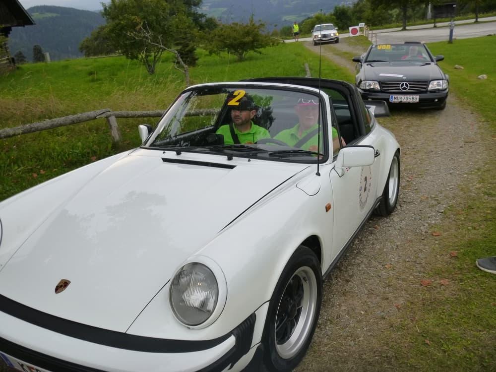 Platz 5: KR ROM Hugo/MÜHLMANN Michael, Porsche 911 SC, Baujahr 1981