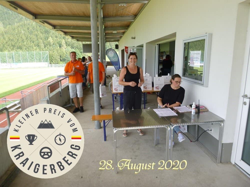 Administrative Abnahme beim Kleiner Preis vom Kraigerberg 2 am 28. August 2020