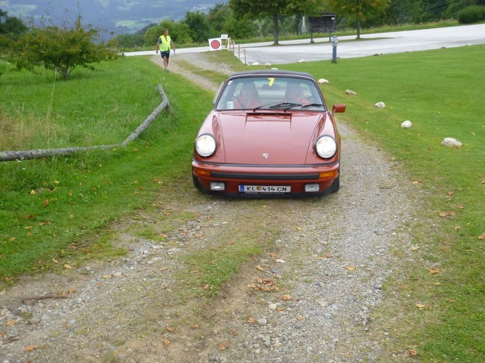 Platz 2: MAK Srecko/ZACH Patrick, Porsche 911 Targa California Baujahr 1975