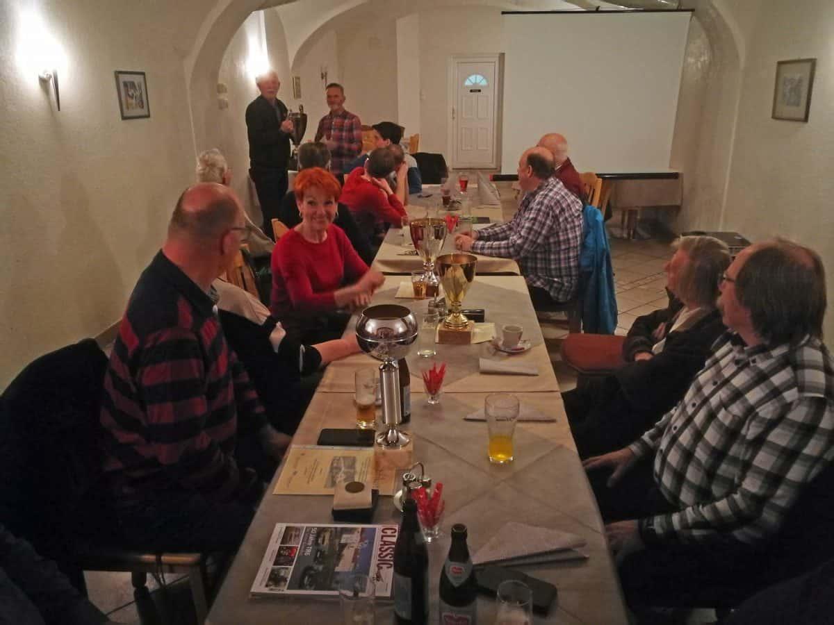 Erster Klub-Abend des C.A.R. Team Ferlach im neuen Klublokal Kanonenho, 21. Feb. 2020
